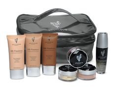 """Younique by Dianne Melville - Uplift. Empower. Motivate. Buy the """"Highlight and Contour Collection"""" and save more than 20% off individual retail. This collection comes with the new silver carrying case and your choice of BB Flawless Complexion Enhancers (Choose three shades), Glorious Face & Eye Primer, and your choice of three Moodstruck Minerals Concealers and/or Blushers."""