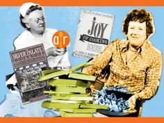Vintage Cookbooks and Their Authors