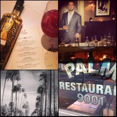 Wonderful evening at the Palm Restaurant, WeHo. 9001 Santa Monica Blvd. Now pouring #InfuseVodka