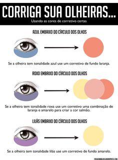 Oiee! Você sabe como usar corretivos coloridos nas olheiras? Não, então leia esse post com o guia definitivo para sumir com elas de vez. Sofro deinsônia, então, ás vezes, acabo tendo uma noite mal…