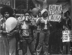 The Black Lesbian Caucus 1972 NY Gay Pride