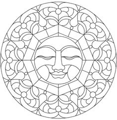  Mandalas  Sun