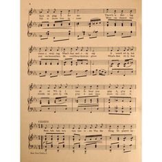 Madden & Schwartz Sheet Music 1907 Rum Tum Tiddle 2 Canvas Art - Madden & Schwartz (18 x 24)