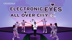 """English Christian Video """"Electronic Eyes All Over the City"""" Crosstalk) In the name of public safety, the Chinese Communist Party installs electronic ey."""