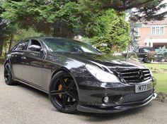 2005 Mercedes-Benz CLS 5.5 CLS55 AMG 4dr 550 BHP + = 200 MPH Petrol NOTTINGHAM - Top Marques