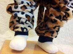 Child Size 2T/3 Golden Leopard Costume