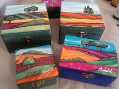 Cajas pintadas