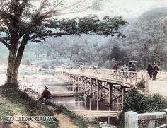 The first photos ever used for Japanese tourism show Japan as it was 100 years ago Japanese History, Japanese Culture, Old Pictures, Old Photos, Vintage Photos, Image Japon, Pont Paris, Art Occidental, Japanese Castle