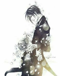 Sebastian black butler manga art drawings anime series tv . Book of atlantic