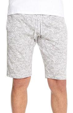 Theory 'Moris' Terry Drawstring Shorts