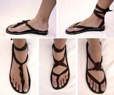 Art diy sandals i-like-clothes