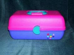 Caboodles!!!!!!!! Same one I had when I was in jr. high