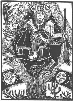 Lampião e a Besta-Fera- gravura