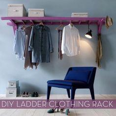 Ladder hanger.