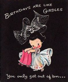 """Cute """"Betty Bow"""" Birthday Card"""
