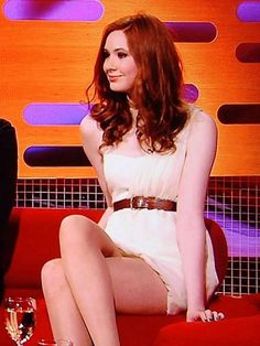 Karen Sheila Gillan, Girls In Mini Skirts, Gorgeous Redhead, Dr Who, Beautiful Celebrities, Beautiful Women, Inverness, Celebrity Pictures, Doctor Who