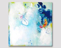 2 parts original abstract painting modern fine art par ARTbyKirsten