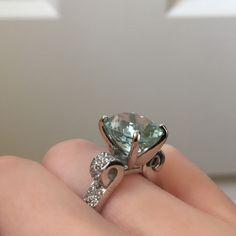 5 carat aquamarine ring