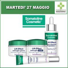 Martedì 27 maggio: GIORNATA SOMATOLINE. Consulenza prodotti e campioni omaggio con l'esperta Somatoline. Inoltre ci sarà uno sconto del 20% all'acquisto di 1 prodotto e del 30% all'acquisto di 3 prodotti. #farmaciaallamadonna #farmacia #mestre #eventi #maggio #somatoline