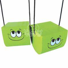 Base Equilibrista Alta - Verde - Brinquedice Brinquedos Educativos