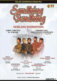 Gamelan ensemble: Sandhing Gendhing - JogjaPages.com