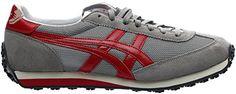 Onitsuka Tiger EDR 78 Running Shoe, Light Grey/Red, 9.5 M US - Onitsuka tiger sneakers for women (*Amazon Partner-Link)