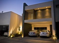 Fachada principal : Casas modernas de fc3arquitectura