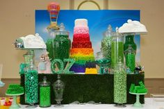 Wizard of Oz Party- this gorgeous Oz tastic party is by Sweetpickings Candy Buffets
