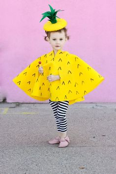 girls pineapple Halloween Costume