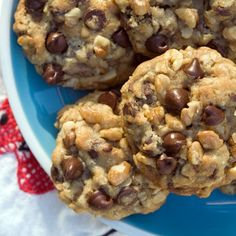 Best-Ever Cowboy Cookies  A lady at church always made these for church supper and if there was any left over she would give them to me:) LOVE THESE!!