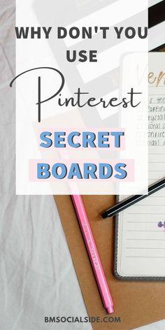 Computer Help, Computer Tips, How Does Pinterest Work, Pinterest Tutorial, Technology Hacks, Secret Boards, Pinterest For Business, User Guide, Pinterest Marketing