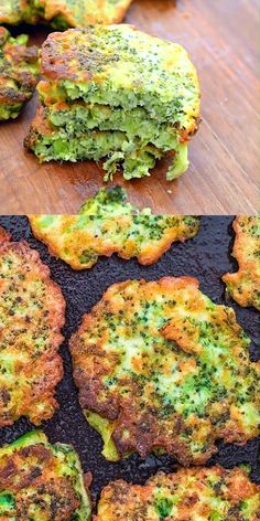 These light golden brown broccoli fritters make a delicious vegetarian dinner or lunch and kids love them too! ready in less than 30 minutes cooktoria for more deliciousness! broccoli fritters lunch vegetarian easyrecipe cooktoria best scones and jam Easy Cake Recipes, Baby Food Recipes, Cooking Recipes, Healthy Recipes, Vegetarian Recipes Videos, Avocado Recipes, Grilling Recipes, Healthy Foods, Gluten Free Recipes For Dinner