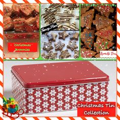 Christmas Tin Collection of All-Natural Dog Treats-$25 Order online at www.kellysgourmetdoggie.com Gourmet Dog Treats, Natural Dog Treats, Treat Yourself, Yummy Treats, Sprinkles, Tin, Holiday, Christmas, Bakery