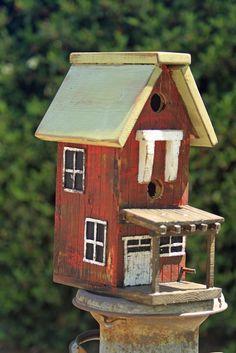 My barn birdhouse still inspires me.  I just love detail.