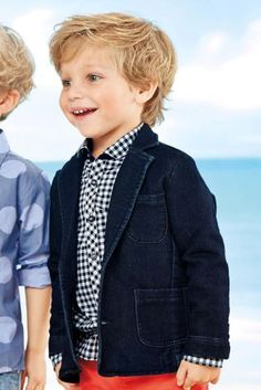 Buy Jersey Denim Blazer (3mths-6yrs) online today at Next: United States of America $29
