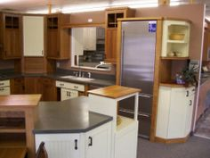 A raised section on your island adds room definition to an open floor plan and creates an aesthetically pleasing design