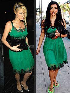 Kim Kardashian and Paris Hilton   PARIS VS. KIM photo   Kim Kardashian, Paris Hilton