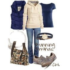 Running Errands, created by jenniemitchell.polyvore.com