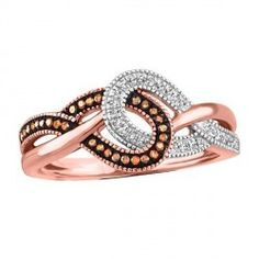 f287afa80dc9 Rose Gold Diamond and Morganite Ring. Anillo De MorganitaDiamantes ...