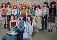 13 Shades of Green (Girl Least Likely To) Tags: toys dolls stpatricksday sekiguchi momoko petworks closeclippedsheep asianfashiondolls
