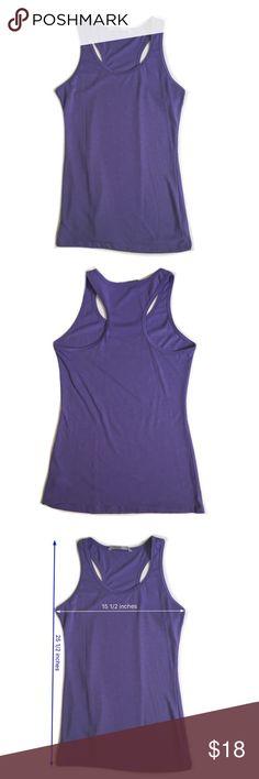 Athleta Tank Top Athleta Purple Tank Top in Good Preowned Condition Athleta Tops Tank Tops