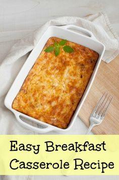 Easy Christmas Morning Breakfast Recipe