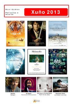 A partir deste 1 de xuño, podedes atopar nova música e cine na Biblioteca Os Rosales