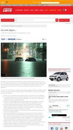 Título: Lá vem água. Veículo:Motorpress Carro. Data: 05/01/2015. Cliente: Allianz Seguros.