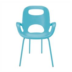 Humpty Dumpty should have chosen this chair instead of a very tall wall to balance on. The Cut Out Chair is a contemporary refresh of a classic mid-century design, featured in countless top design and ...  Find the Cut Out Chair in Blue - Set of 2, as seen in the Gibraltar Influences Collection at http://dotandbo.com/collections/gibraltar?utm_source=pinterest&utm_medium=organic&db_sku=89697