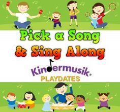 Link to blog news post - Kindermusik Playdates a plenty this week in Central FL!  #kindermusik #playdates #growandsingstudios #dealonyelp
