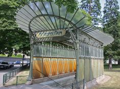 Hector Guimard - 1867-1942 - 141(subway) metro station entrances