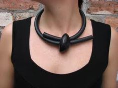 cool lucite necklace