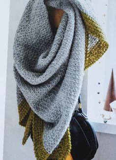 Designed by Stine Hoelgaard Johansen for the magasin Hendes Verden/Sally's tunesian crochet/tunesisk hækling
