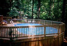 13 Best Doughboy Decks Images Above Ground Pool Decks
